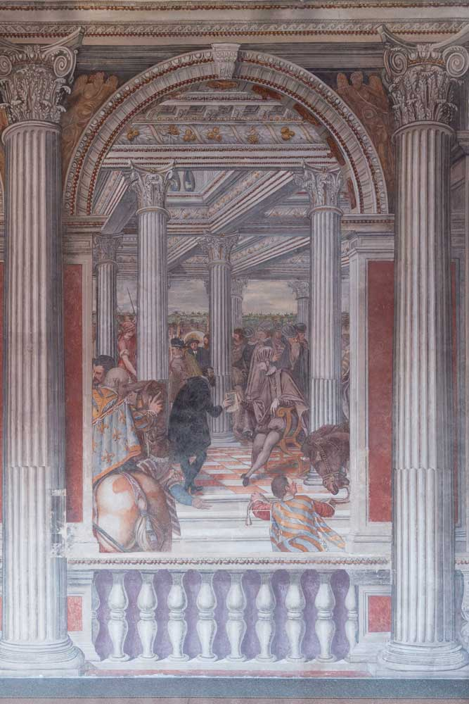 Sacile Palazzo Ragazzoni - SALONE DEGLI IMPERATORI