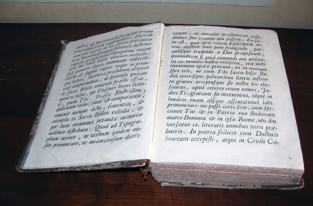 What to see in Sacile: Biblical Center - book detail