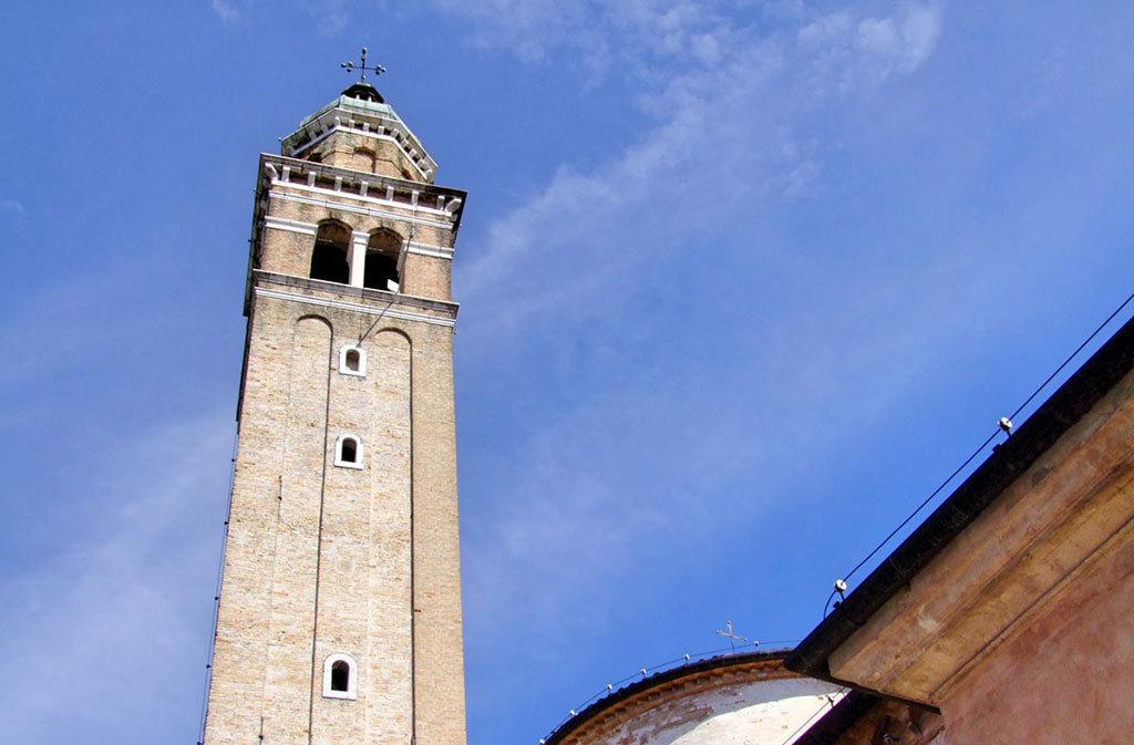Cosa vedere a Sacile: Chiesa San Gregorio - campanile