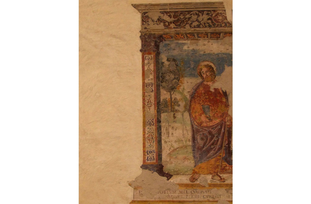 What to see in Sacile: Church of San Gregorio - fresco