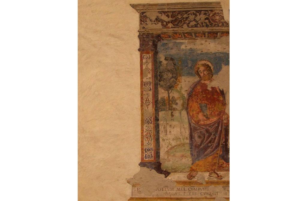 Cosa vedere a Sacile: Chiesa San Gregorio - affresco