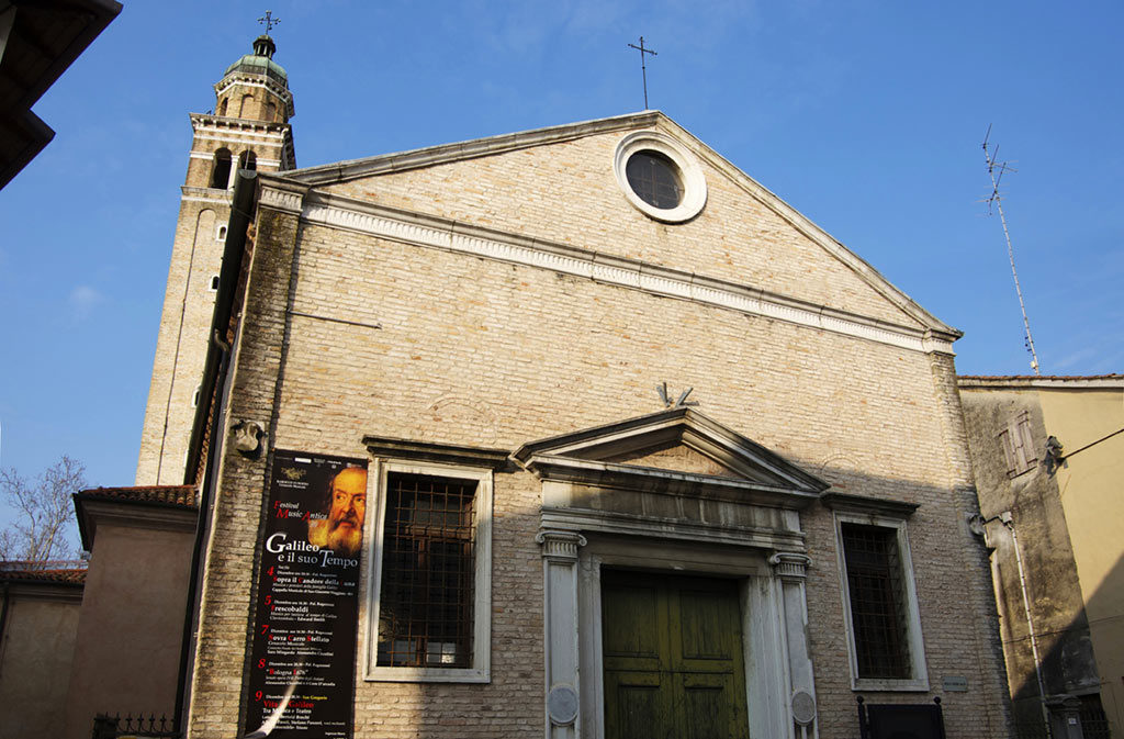 What to see in Sacile: Church of San Gregorio - facade
