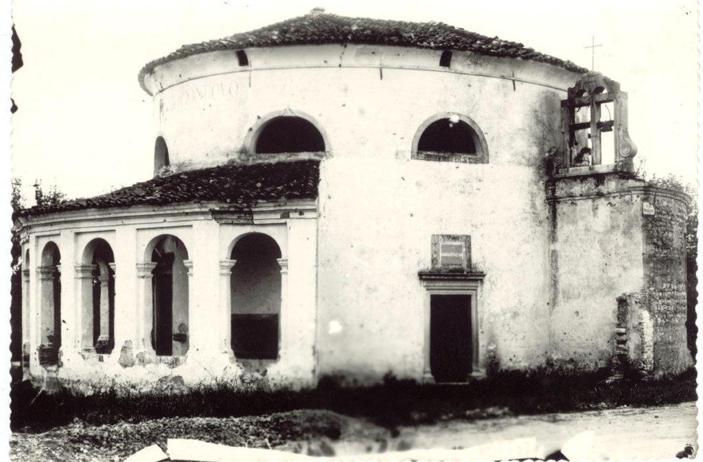 Churches in Sacile: San Liberal Church - antique photos