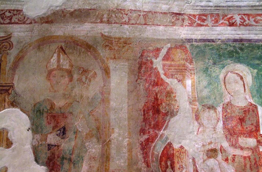Chiese a Sacile: Chiesetta di Fossabiuba - affresco