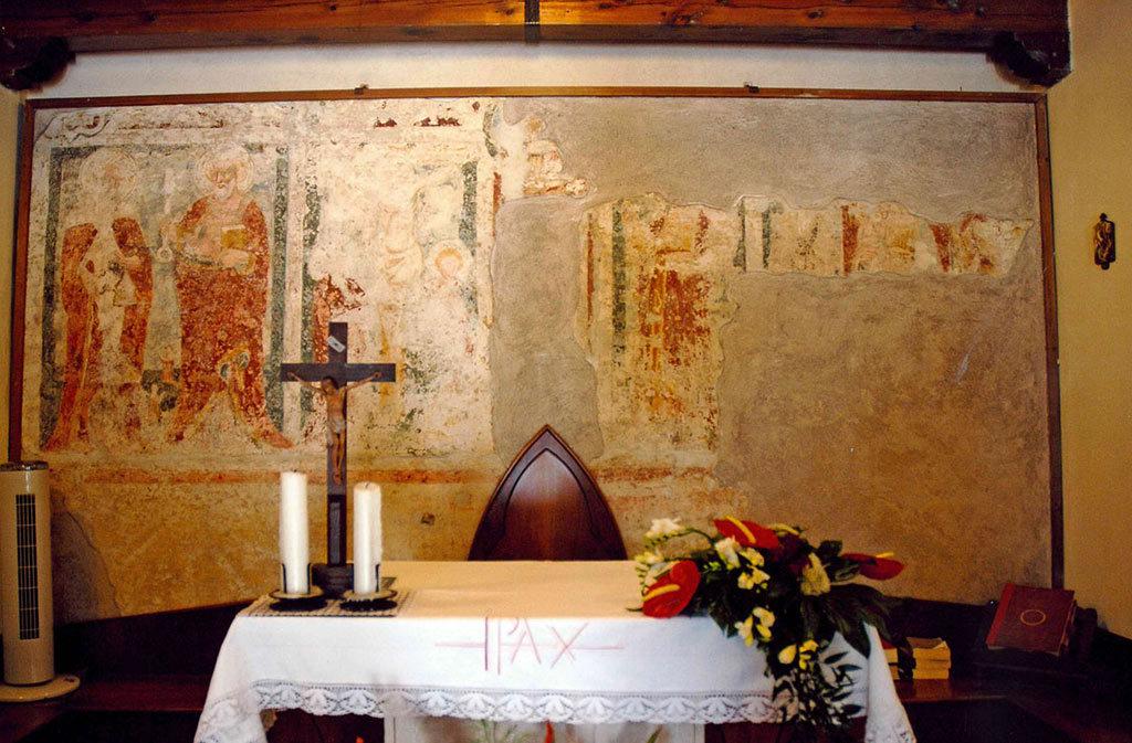 Chiese a Sacile: Chiesetta di San Daniele - altare