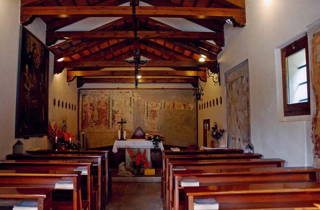 Chiese a Sacile: Chiesetta di San Daniele - interno