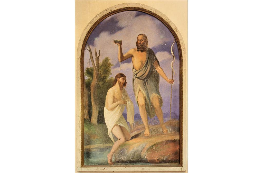 Chiese a Sacile: Chiesetta San Battista - affresco