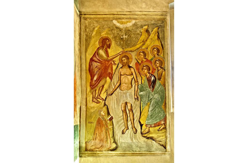 Churches in Sacile: St. Baptist Church - fresco 3