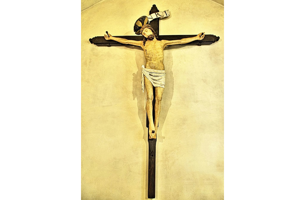 Churches in Sacile: San Baptist Church - Crucified