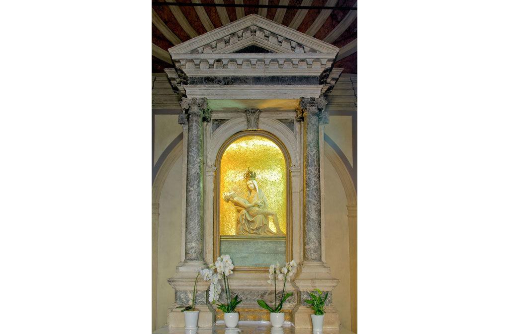 Chiese a Sacile: Chiesetta della Pietà - abside