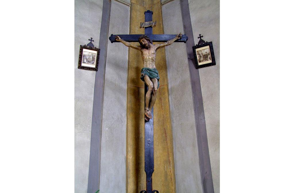 Chiese a Sacile: Chiesetta della Pietà - crocifisso