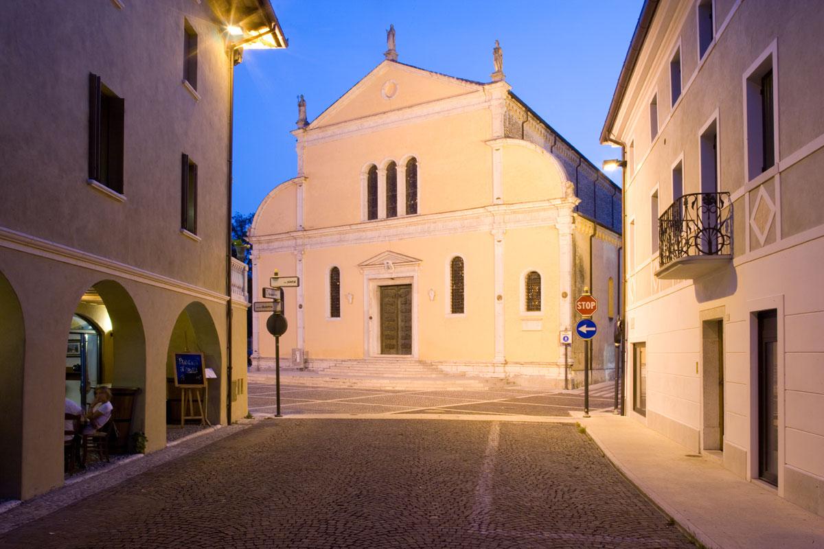 Churches in Sacile: Duomo San Nicolò - Piazza Duomo