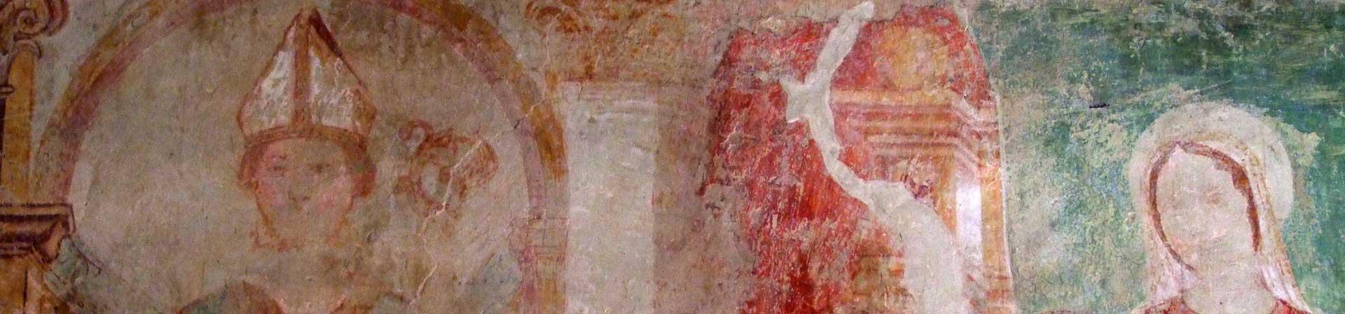 Chiese Sacile - Fossabiuba madonna con bambino e vescovo