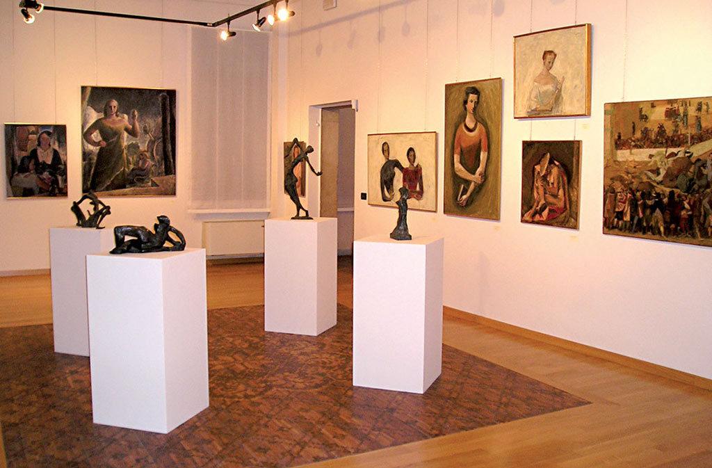 Cosa vedere a Sacile: Gallery Casarini - sala interna