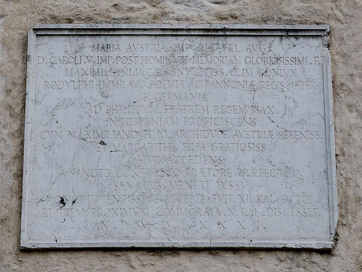 Storia di Sacile: Maria d'Austria