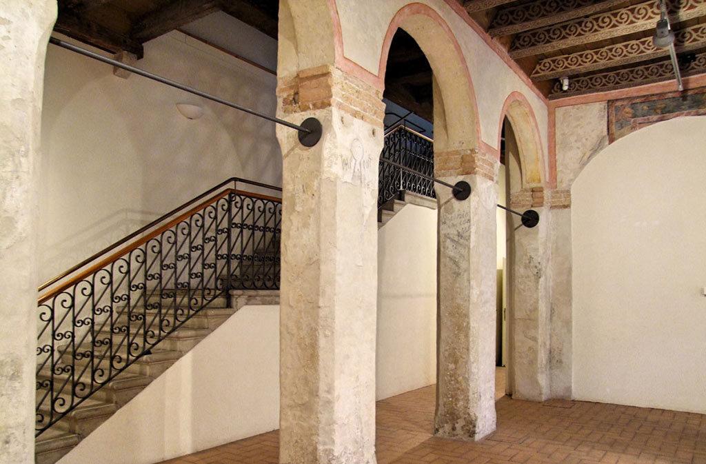 Cosa vedere a Sacile: Ospitale San-Gregorio - arcata