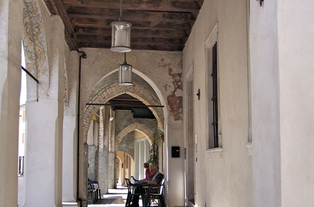 What to see in Sacile: Hospitable San-Gregorio - exterior