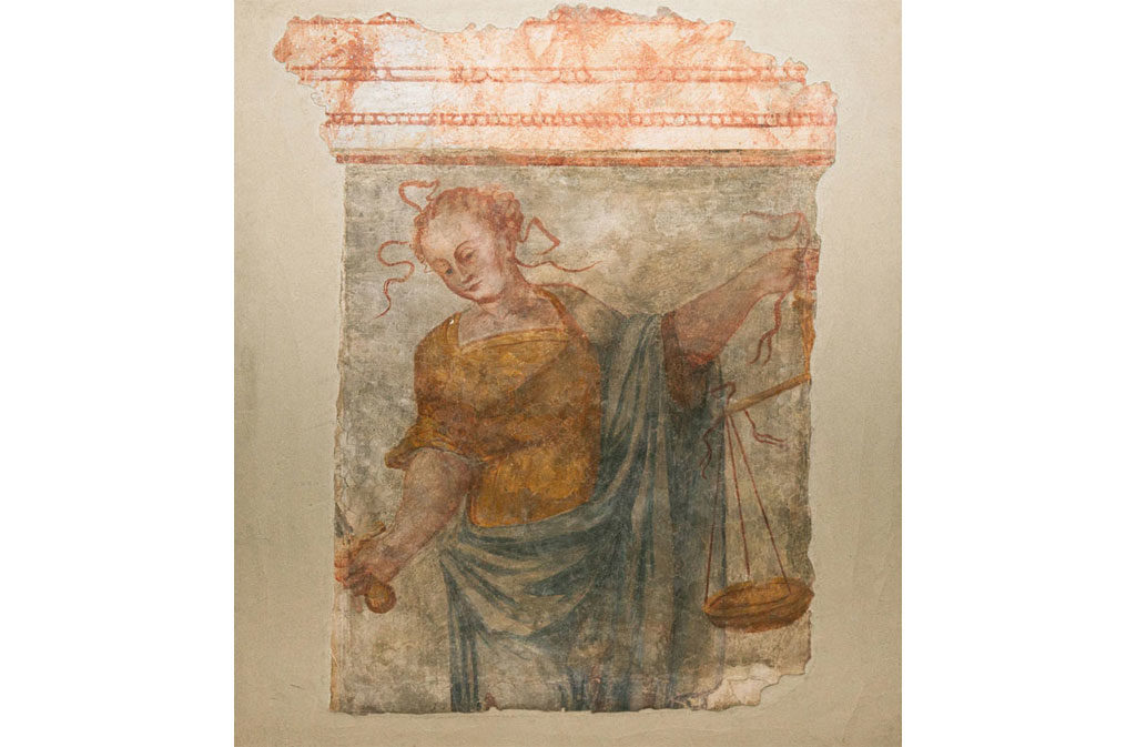 What to see in Sacile: Palazzo Comunale - affresco