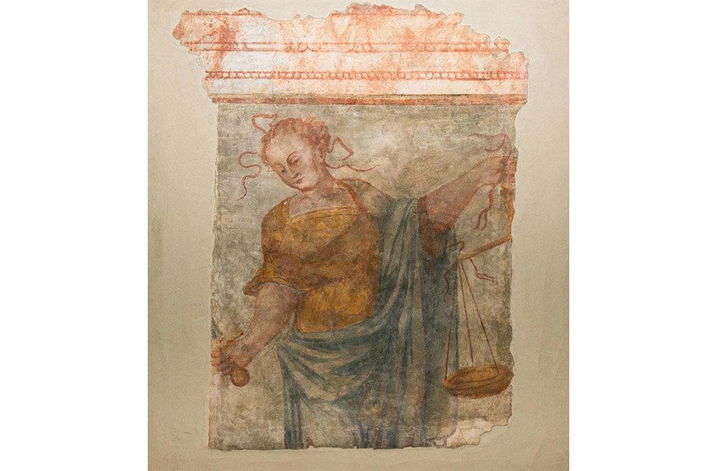 Cosa vedere a Sacile: Palazzo Comunale - affresco