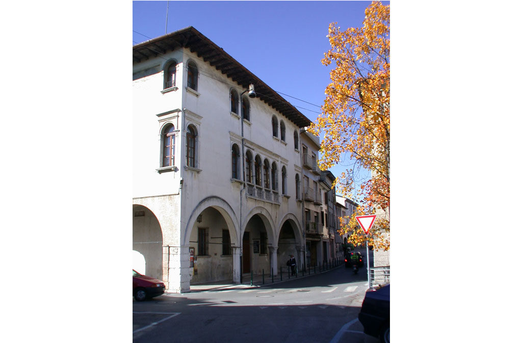 What to see in Sacile: Palazzo Hector - exterior