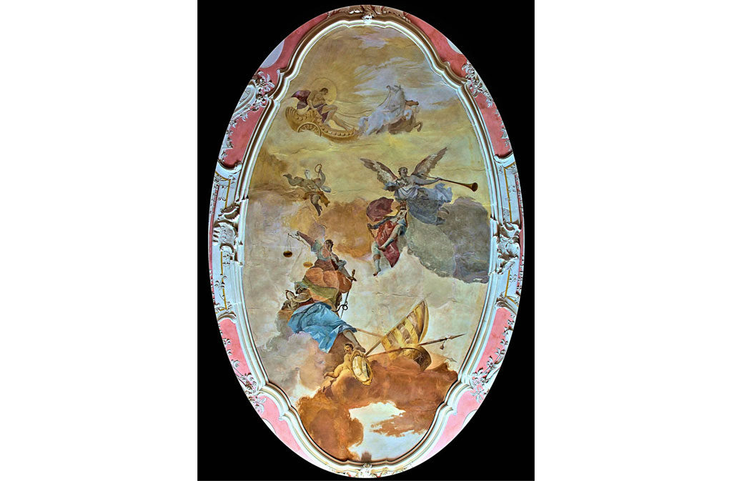 What to see in Sacile: Ovio Gobbi Palace - affresco