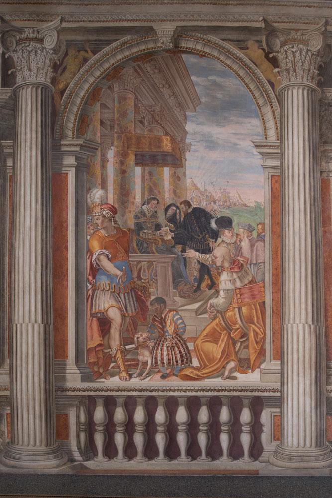 Palazzo Ragazzoni - Salone Imperatori - interni