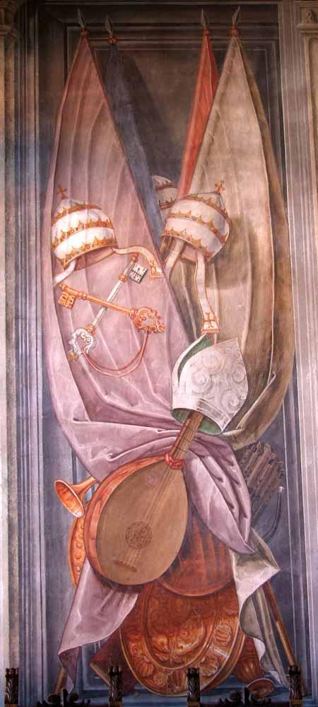 Palazzo Ragazzoni - Saletta delle bandiere - dettaglio 6