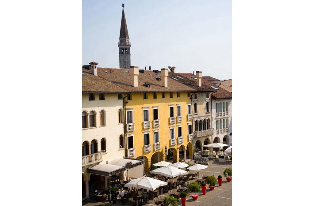 Cosa vedere a Sacile: Piazza del Popolo - veduta