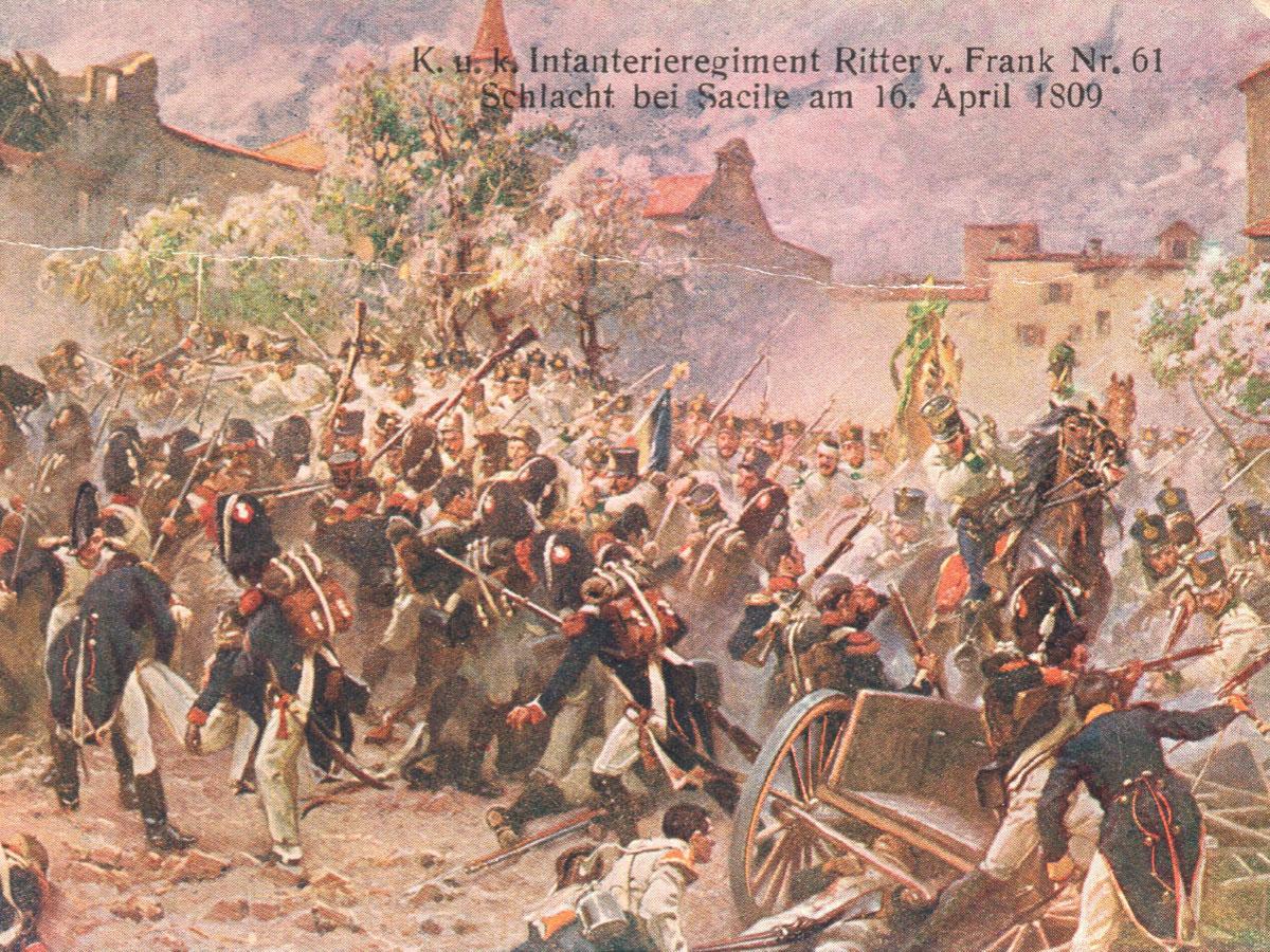 Storia di Sacile: battaglia napoleonica