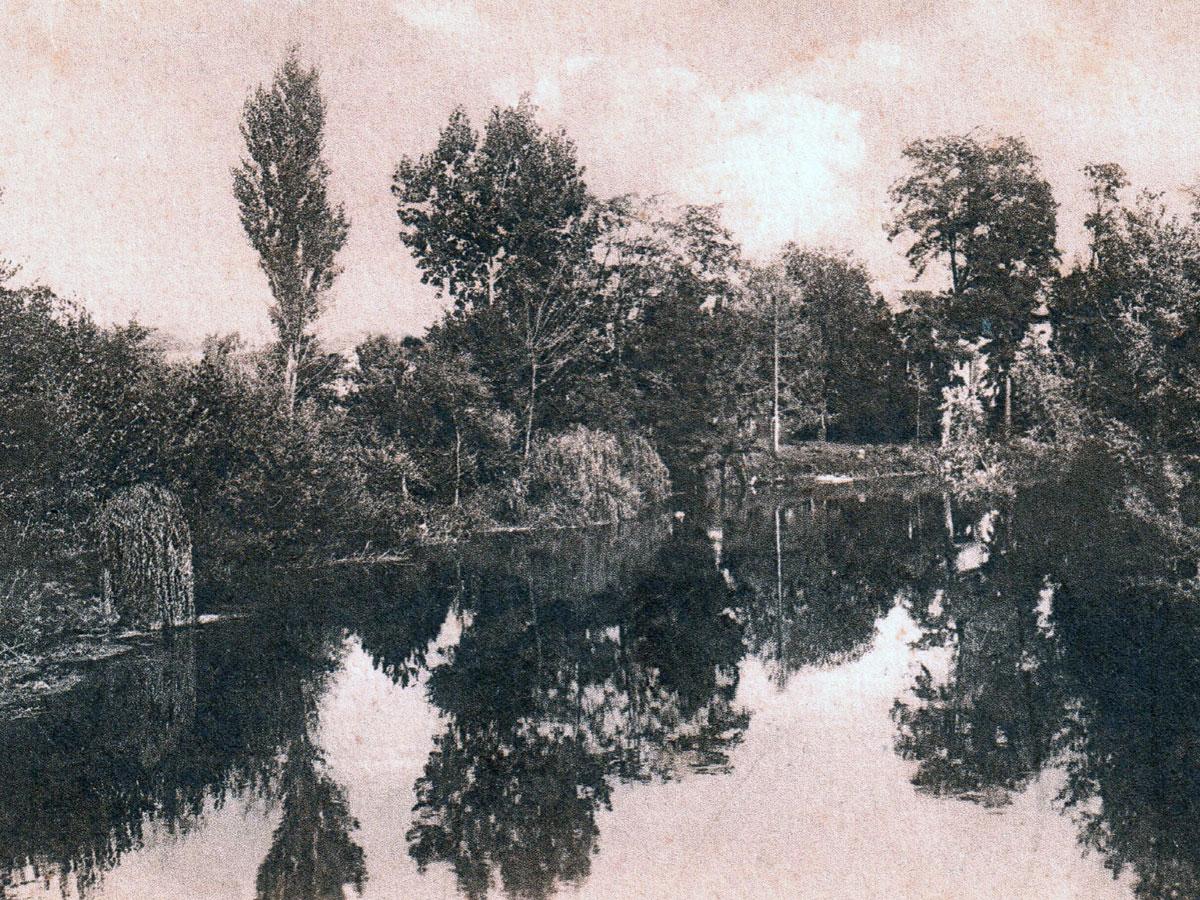 Storia di Sacile: cartolina storica del Livenza