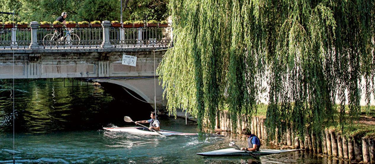 Gite in canoa a Sacile