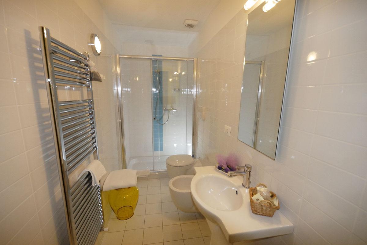 Dove dormire a Sacile: Hotel Due Fiumi - bagno
