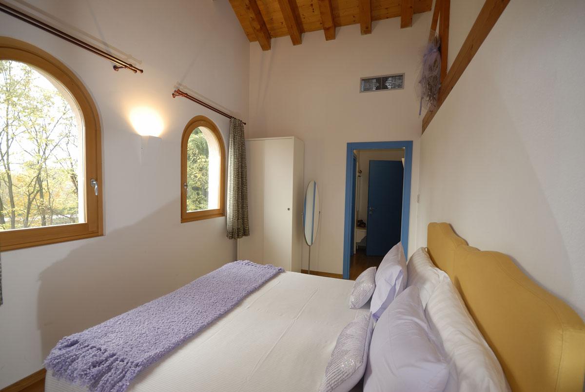 Dove dormire a Sacile: Hotel Due Fiumi - camera matrimoniale