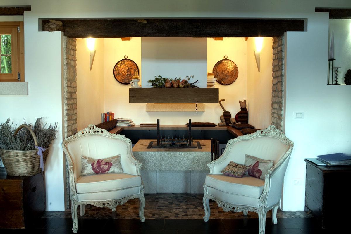 Dove dormire a Sacile: Hotel Due Fiumi - sala relax