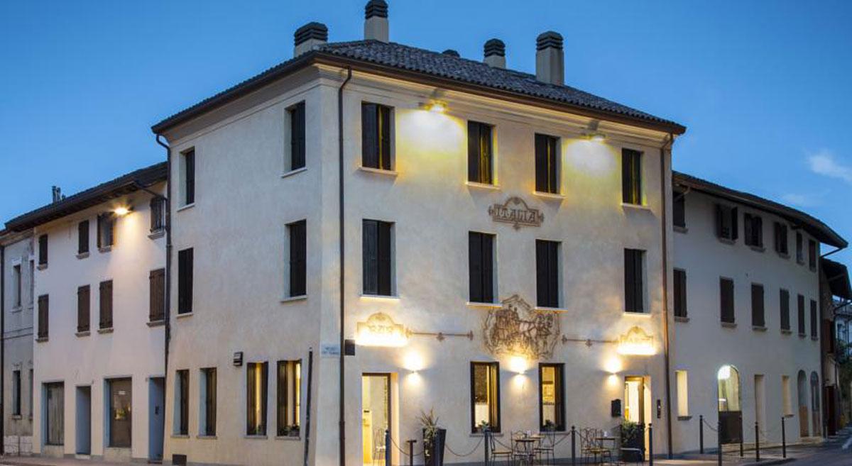 Dove dormire a Sacile: Hotel Italia - esterno