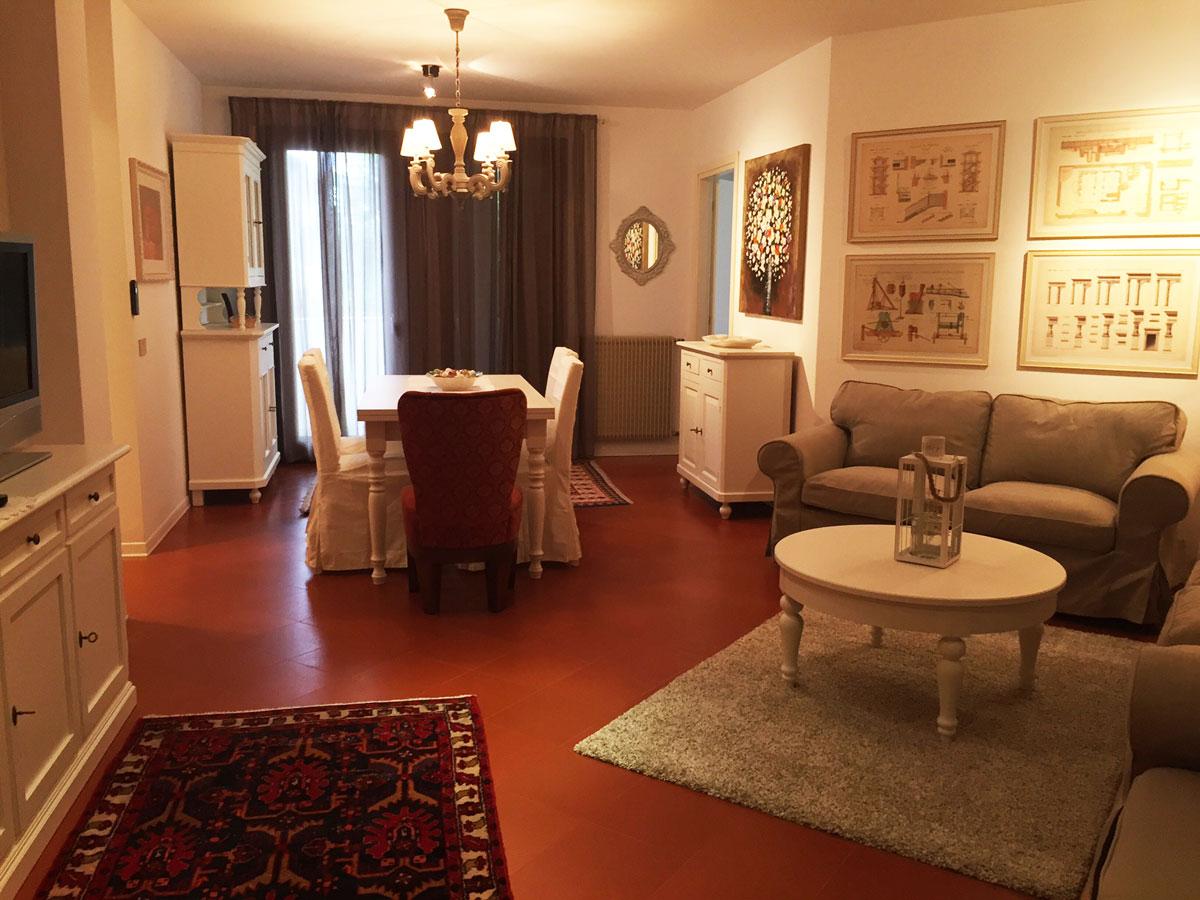 Dove dormire a Sacile: Residenza dei Tolomei - salotto