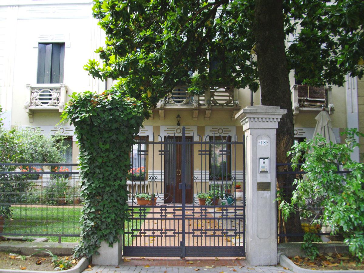 Dove dormire a Sacile: Villa Regina - entrata