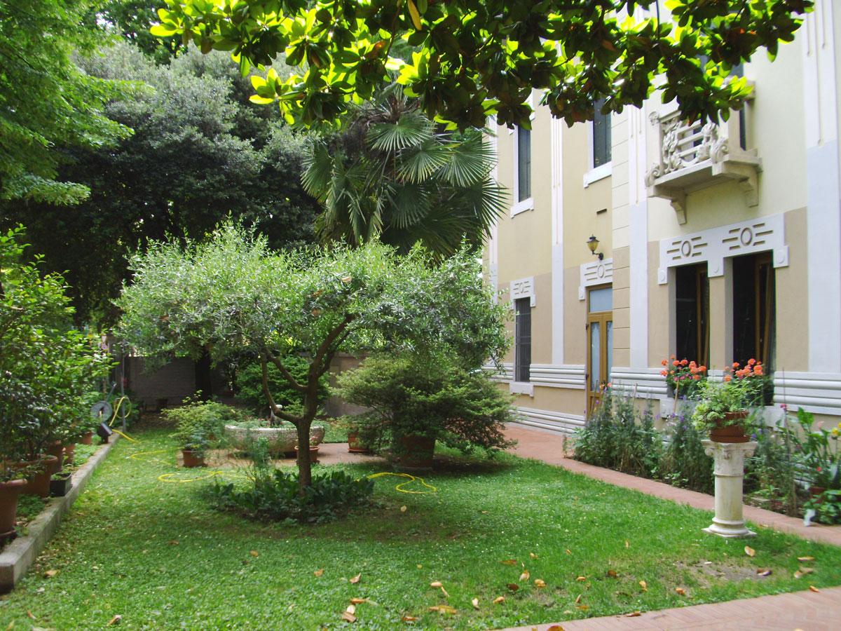 Dove dormire a Sacile: Villa Regina - giardino