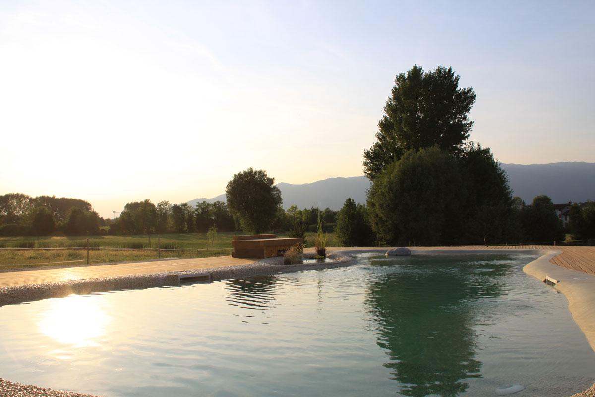 Dove dormire a Sacile: Agriturismo Acero Rosso - piscina