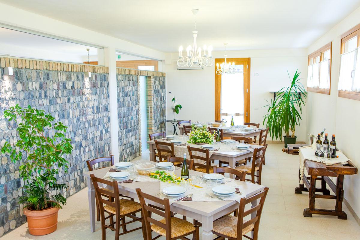 Dove dormire a Sacile: agriturismo La Chiocciola - ristorante