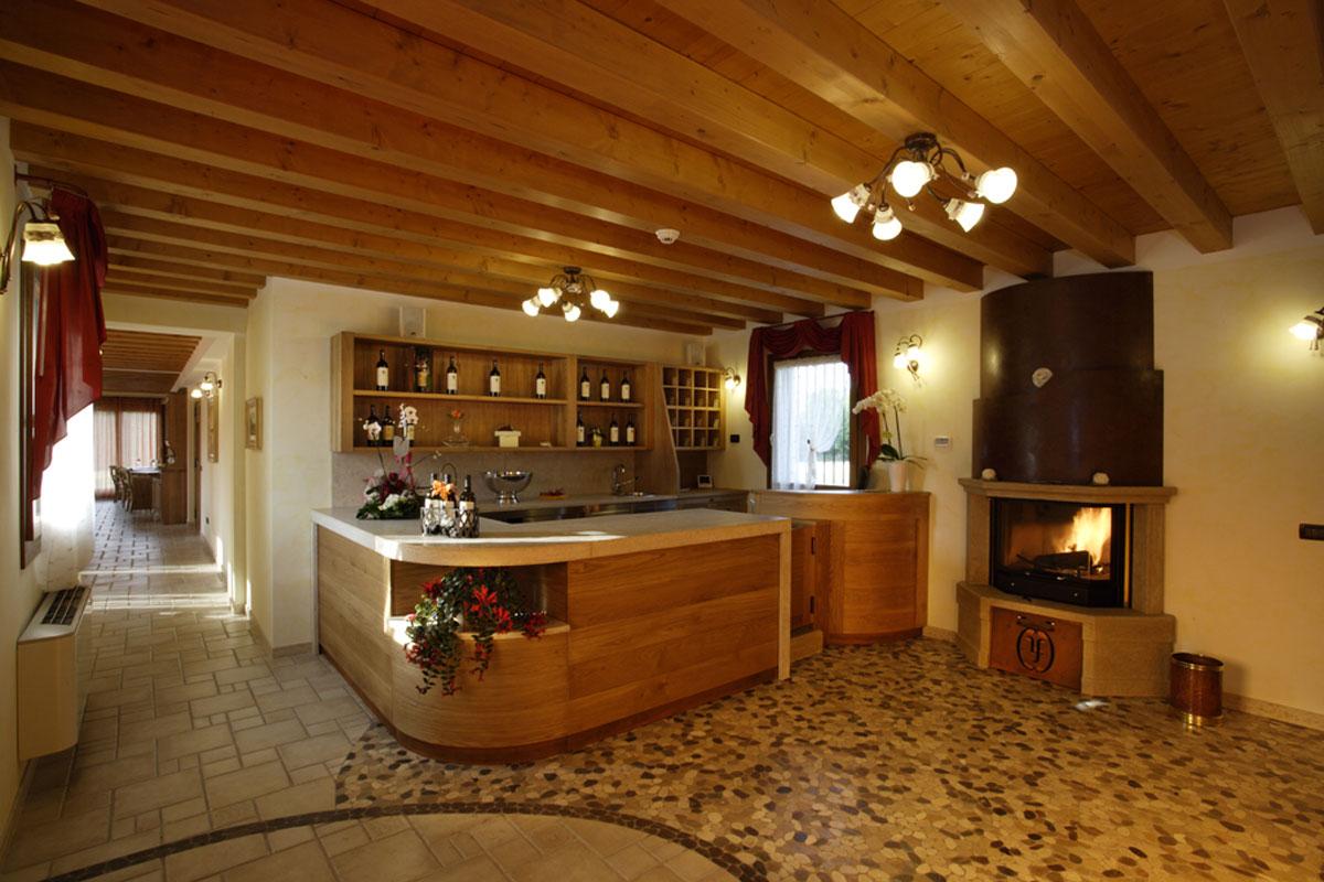 Dove dormire a Sacile: agriturismo La Favola - cucina